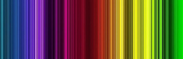 Colores brillantes y llamativos
