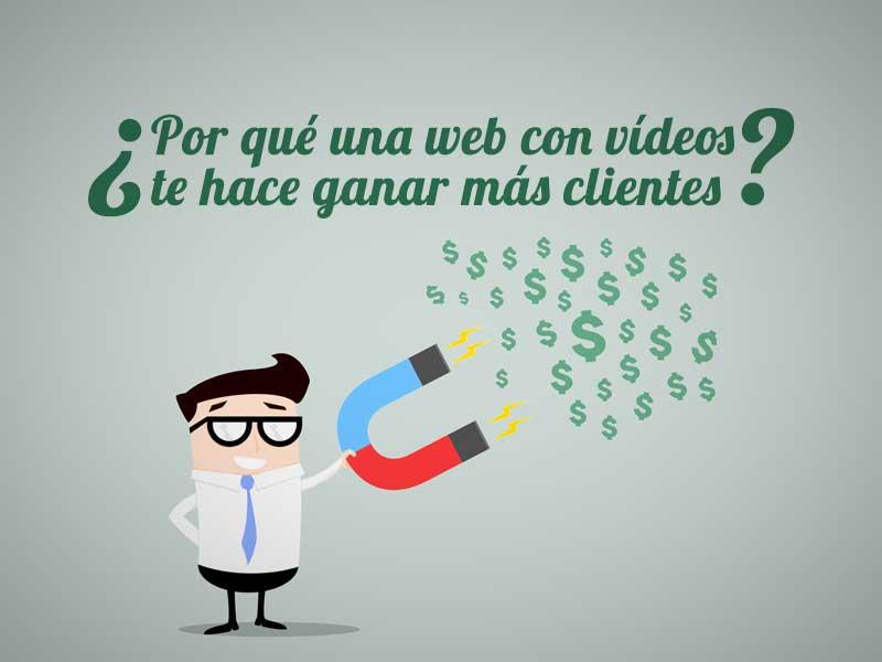 Por qué una web con vídeos es más atractiva para el usuario y por qué eso te hace ganar más clientes
